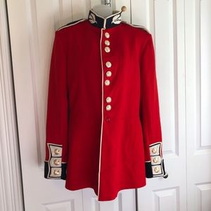 Military Scots Guard Coat Tunic Red R & F English